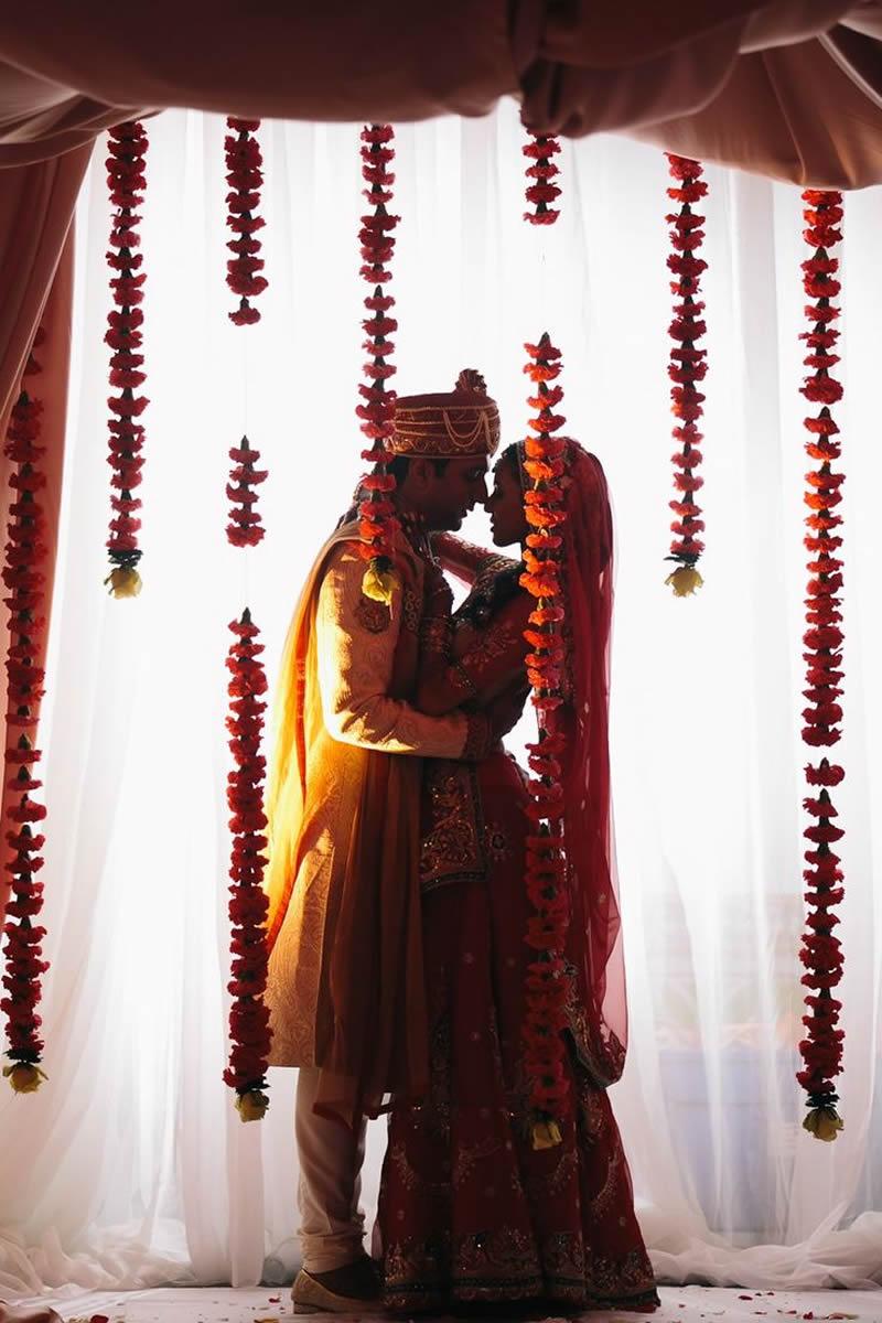marigold garland indian wedding