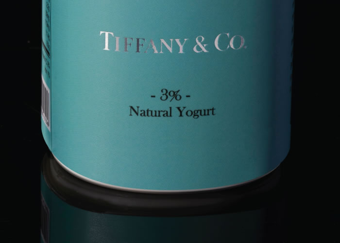 Tifffany & Co natural yogurt...