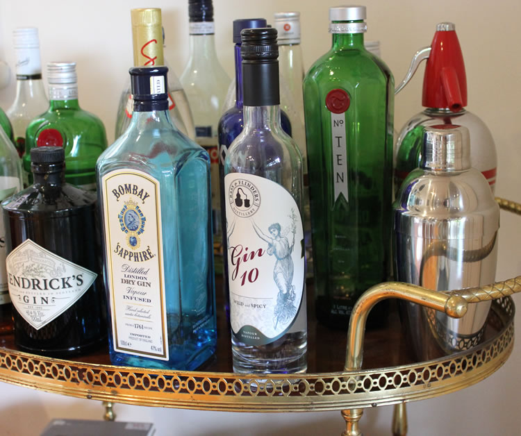 Looking at my collection on the bar cart, I'm beginning to wonder if I have a problem….