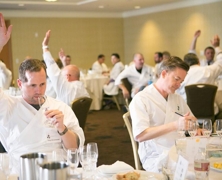 tasting at san francisco world spirits competition