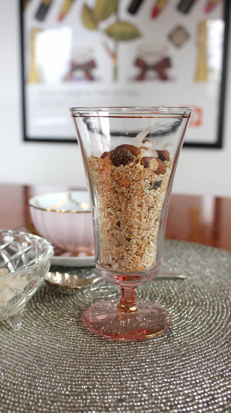 sugar free sesame seed muesli recipe