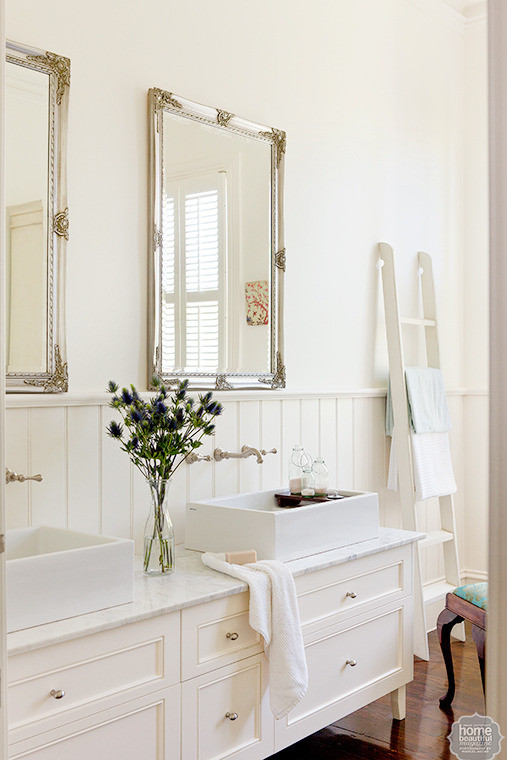 A Victorian Villa With A Claw Foot Bath Marble Kitchen And White Shuttered Windows Glamour
