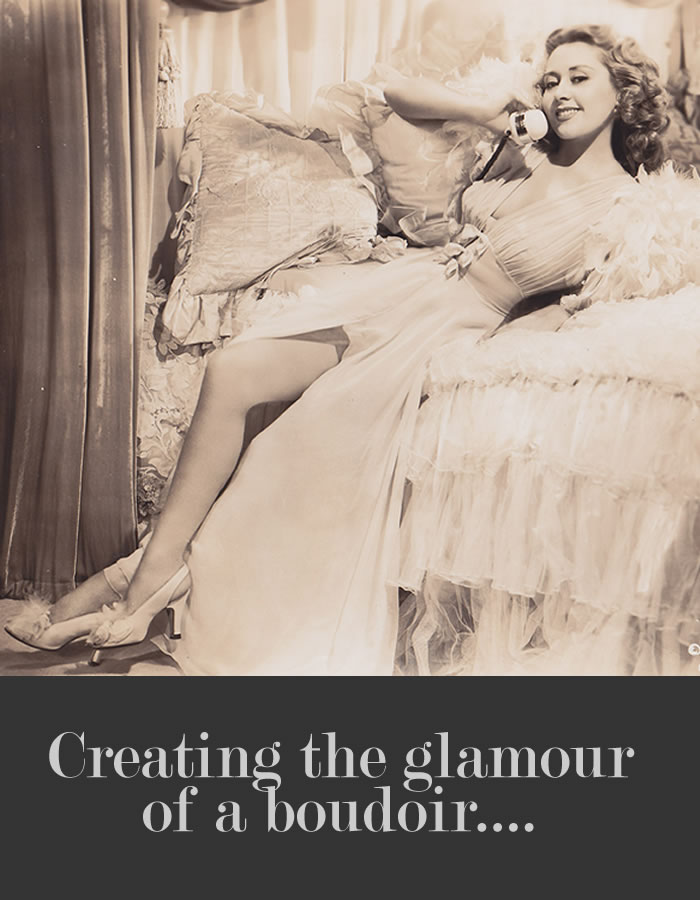 5 steps to creating a glamorous bedroom….