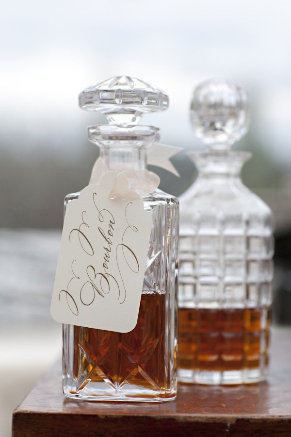 First Known Glass Decanters