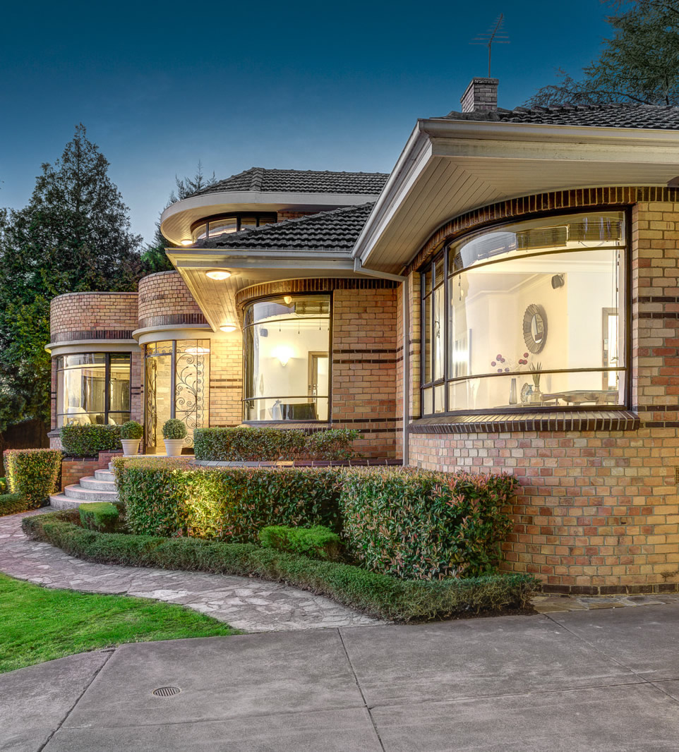 Historical architectural style the art deco waterfall for Brick styles for houses