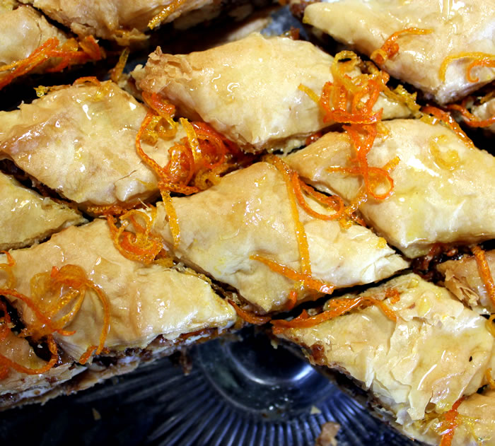 BAKING :: Citrus & Walnut Baklava