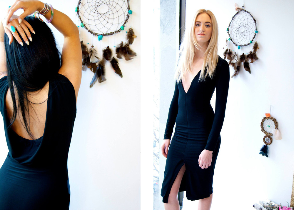 Ethical Luxury : the divine bamboo fibre dresses by Stix & Roses, made in Chicago.