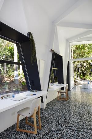 HOME OFFICE An Imaginative Studio In A Jungle Garden