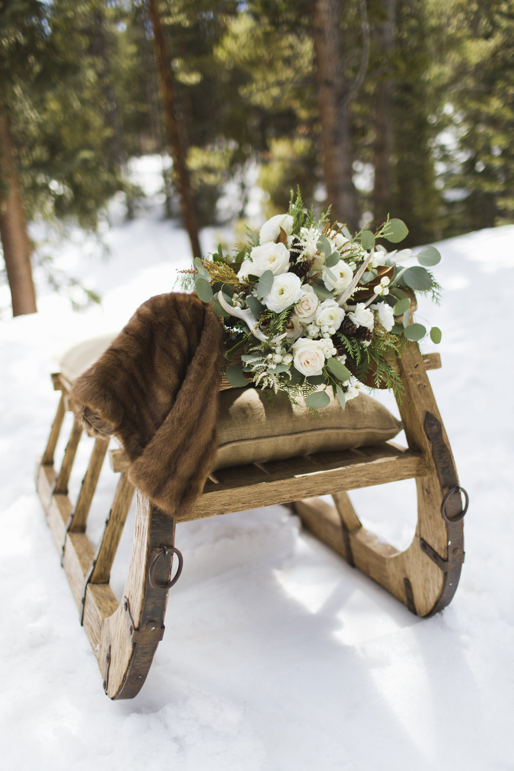 Winter Wedding Style | Breckenridge, Colorado | Bello & Blue Events | Colorado & Denver Wedding Planner