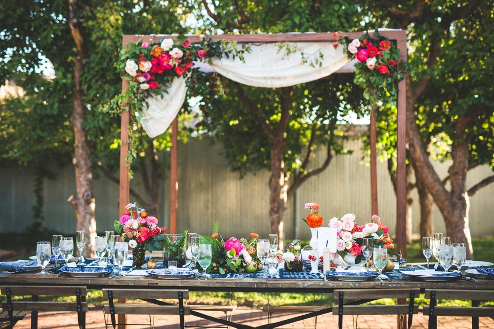 Eclectic Boho Wedding in Denver, Colorado | Event Design by Bello & Blue Events