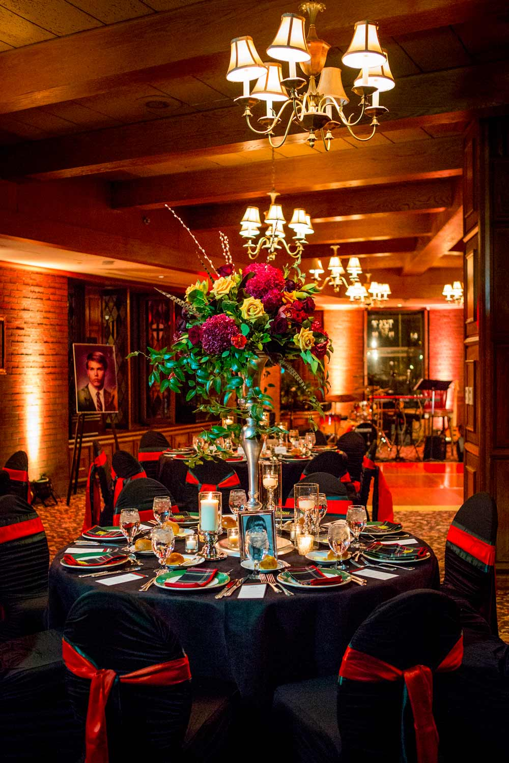 black tie 50th birthday party in Denver, Colorado | Bello & Blue Events | Wedding & Event Planning in the Mile High City