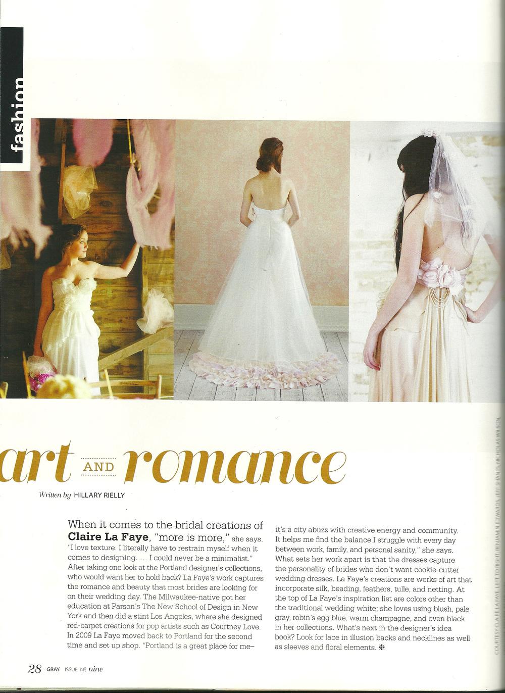 Gray Magazine - Spring 2013