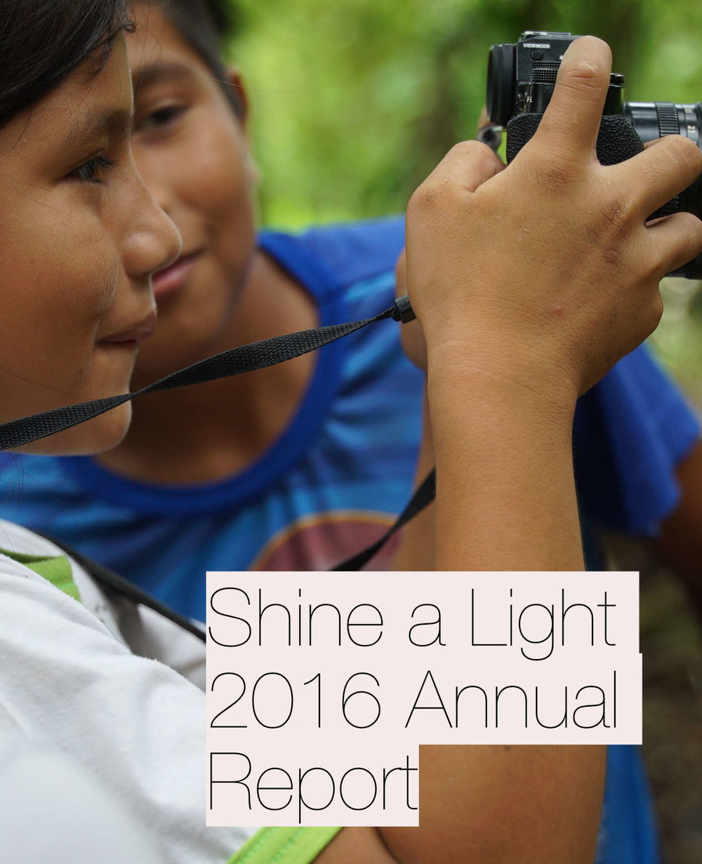 Shine a Light Annual Report, 2016