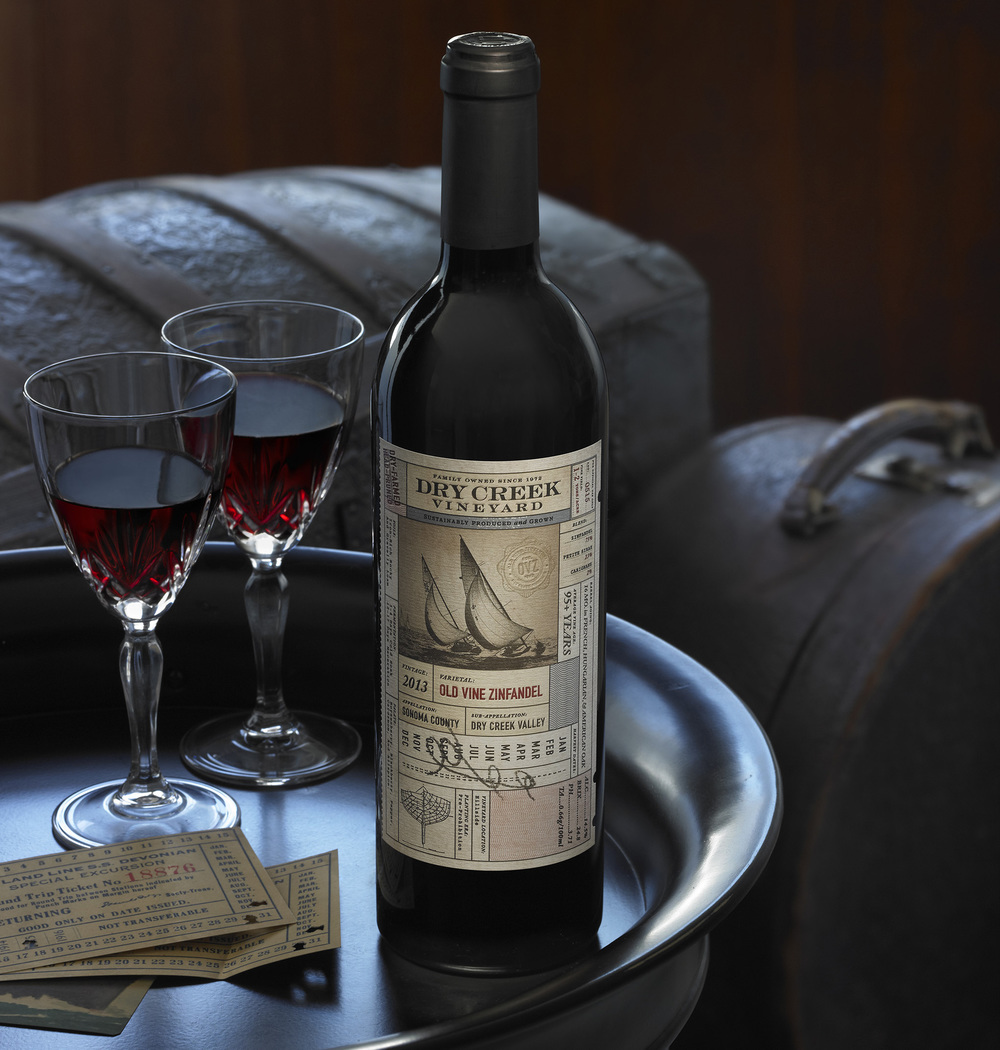 Auston Design Group - Dry Creek Vineyard - Old Vine Zin - Still Life