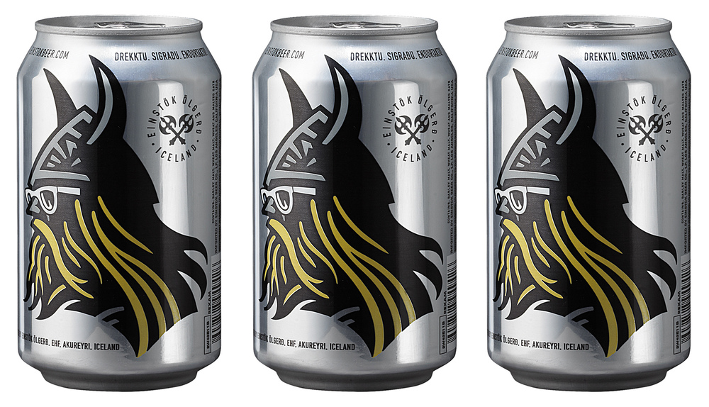 Auston Design Group - Einstok Arctic Berry Ale Cans