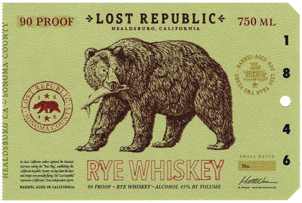 Auston Design Group - Lost Republic Rye - Still Life