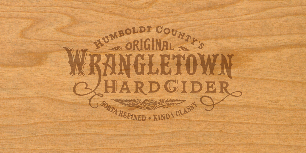 Auston Design Group - Wrangletown Cider - Brandmark