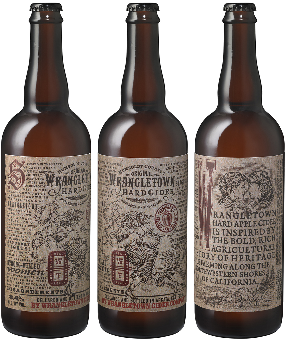 Auston Design Group - Wrangletown Cider - 3 Bottles