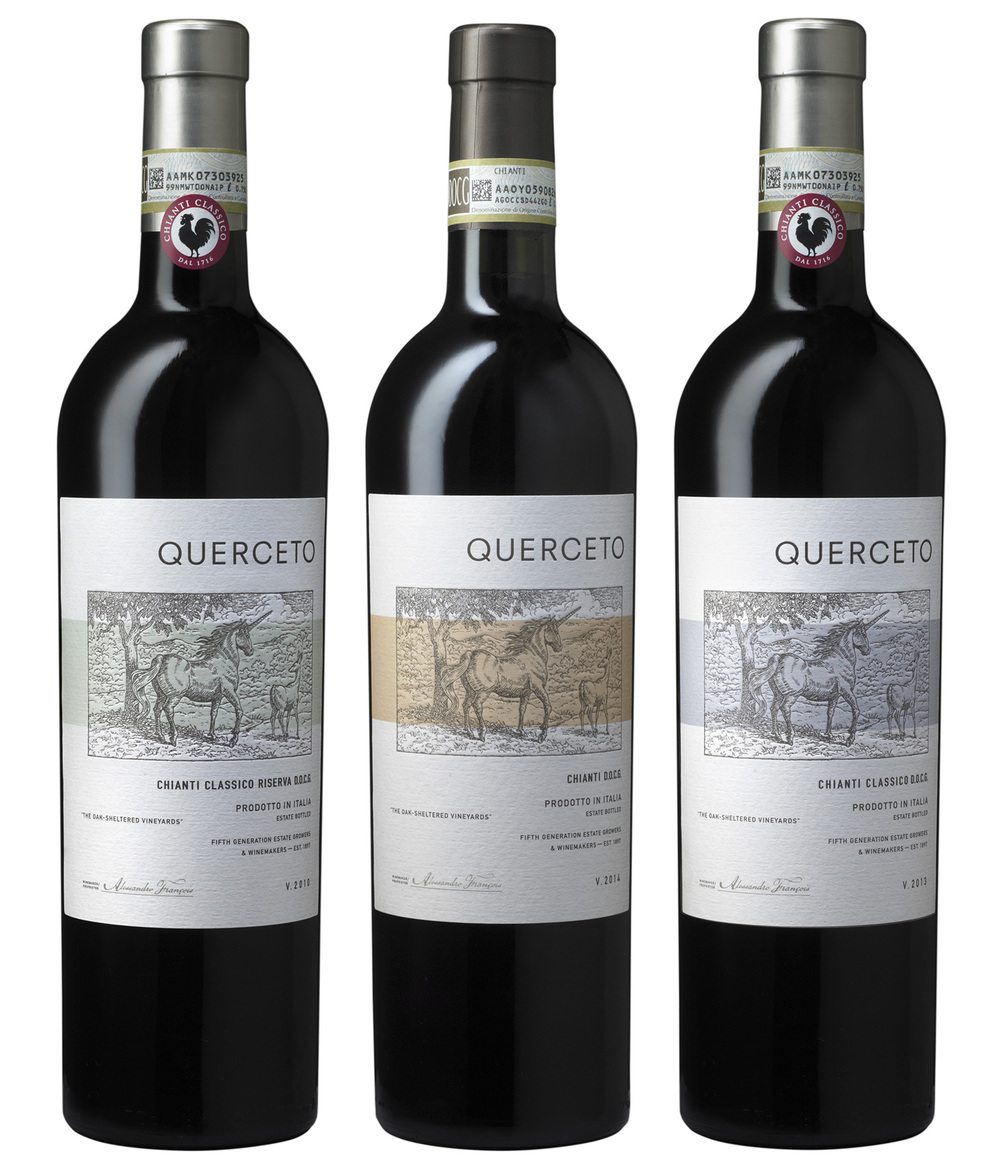 Auston Design Group - Querceto Chianti 3 Bottle