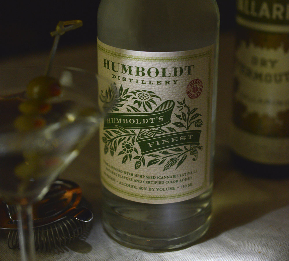 Auston Design Group - Humboldt Distillery - Hemp Vodka Close-up