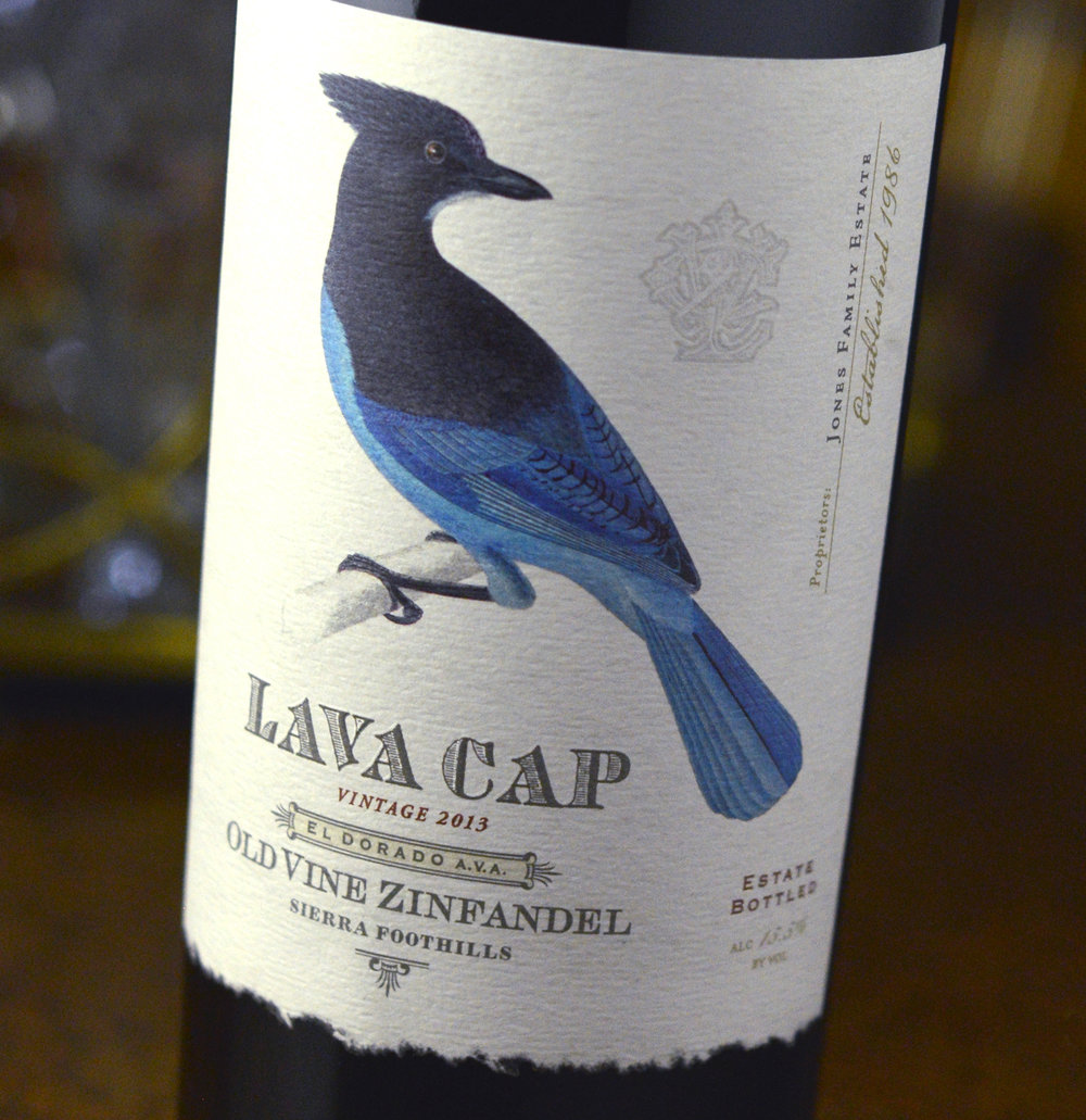 Auston Design Group - Lava Cap Winery - Label Close-up