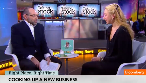 The Culinistas® founder Jill Donenfeld on Bloomberg TV
