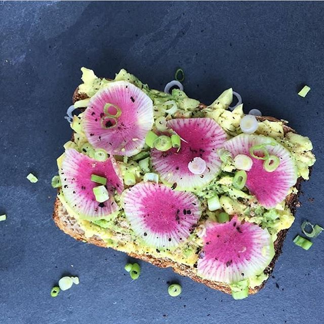 Starting Sunday right 😍with @spiceandzest beautiful toast!