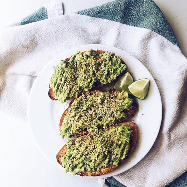 Beautiful toast and pic! #betterontoast 📷: @meganisabellax