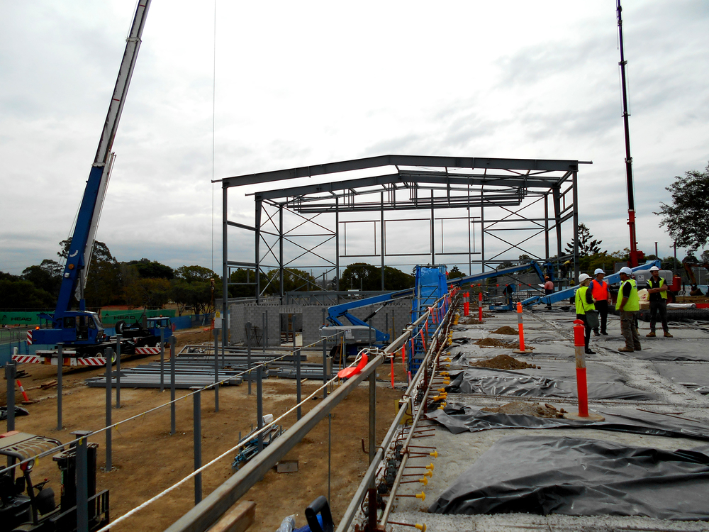 St Paul's Gym is currently under construction! This Gym facility is due to be completed towards the end of 2016 - it is a multi purpose hall which combines sporting and drama facilities extending off the School's original gymnasium. Watch this space for more updates!