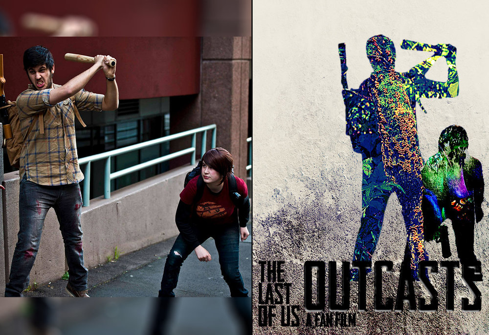 Outcasts Poster Photoshop Example