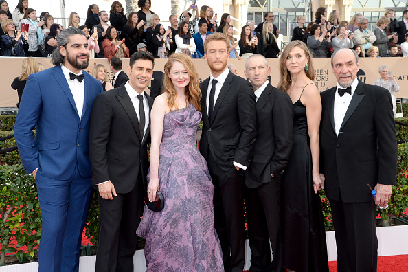 Actors   Rene Ifrah  ,   Miranda Otto  , Alexander Fehling, Mark Ivanir, Sarah Sokolovic and F. Murray Abraham attend The 22nd Annual Screen Actors Guild Awards