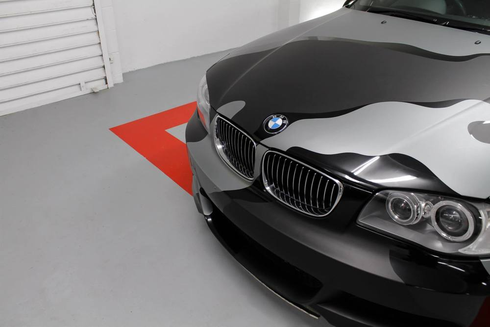 Snow Camo BMW Bonnet