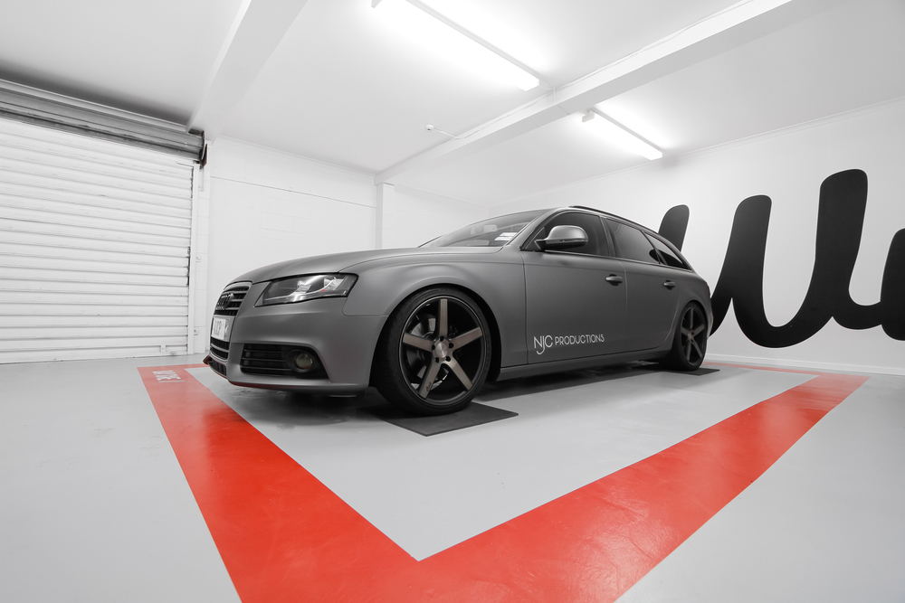 Audi A4 Wrapped