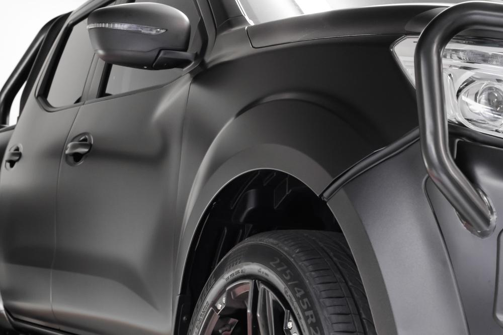 Matte Black 2015 Nissan Navara