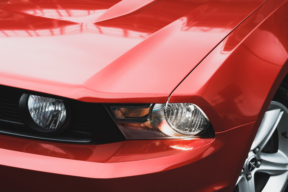 Ford Mustang GT Headlight