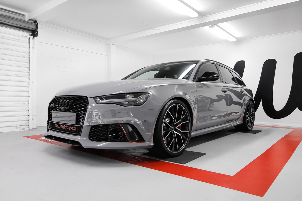 Vinyl Wrapped Audi RS6