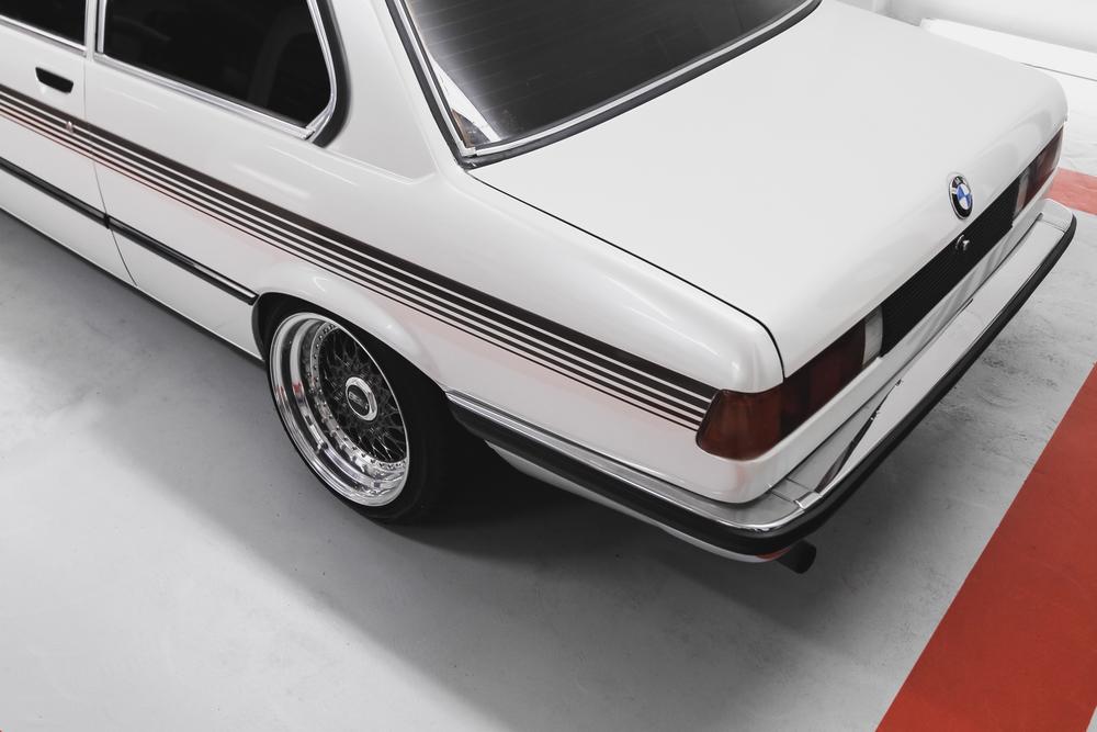 Rear BMW 316