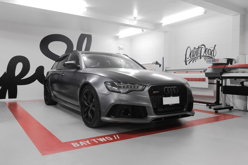 Audi RS6 Wrapped