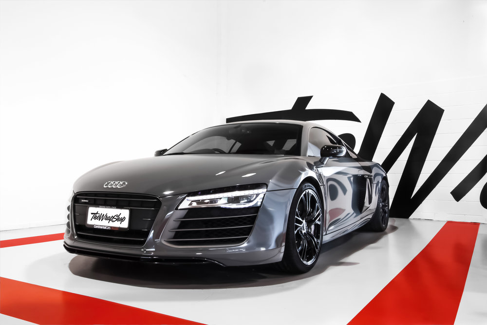 Audi R8 Wrapped