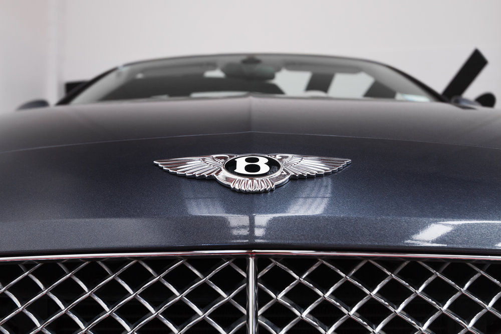 Wrapped Bentley Grill