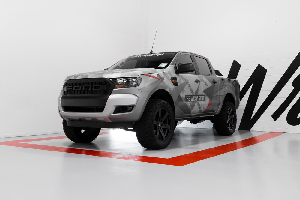 Wrapped Ford Ranger