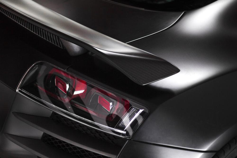 Audi R8 Spoiler Carbon fiber