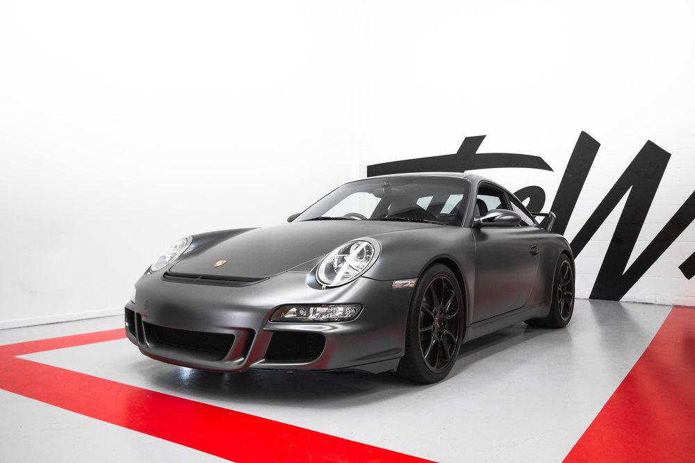 Porsche GT3 vinyl wrapped