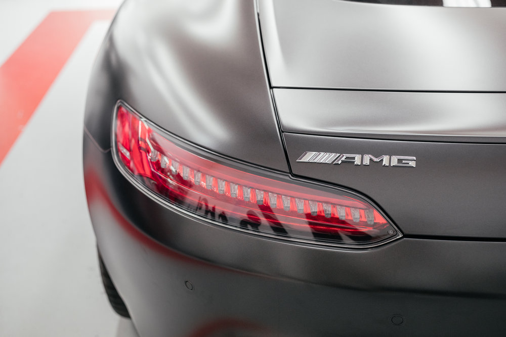 Mercedes GTS rear Lights