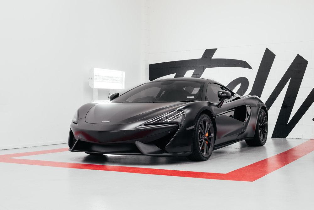 Satin Black McLaren