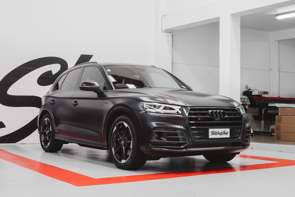 Satin Black Audi SQ5