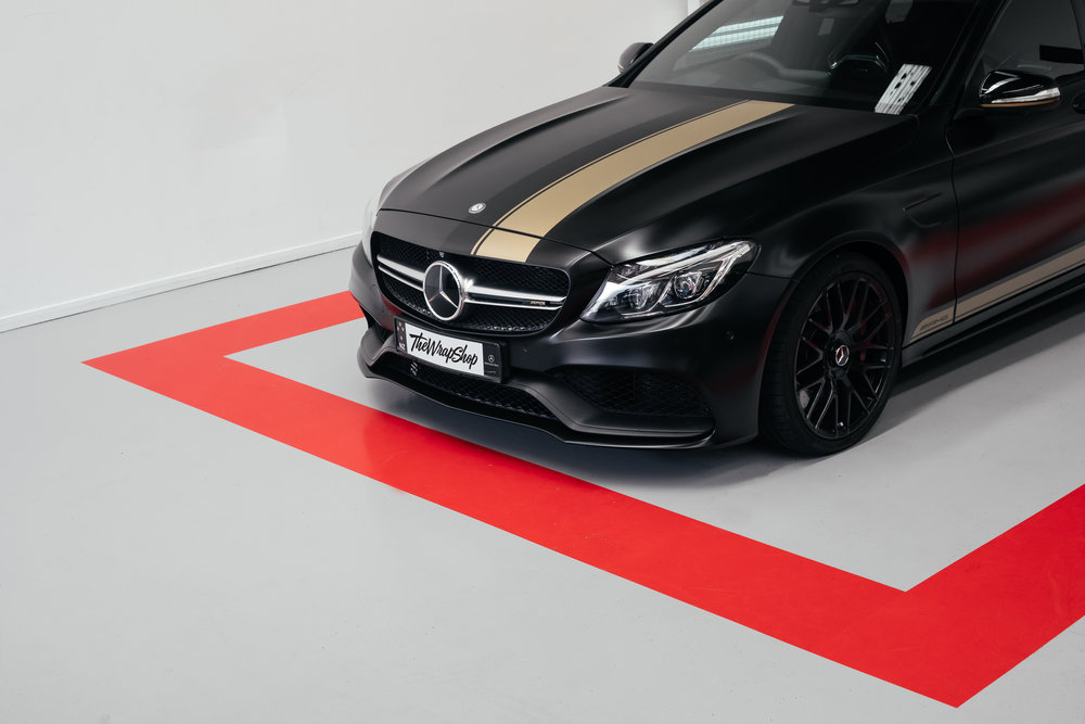 Wrapping Mercedes C63