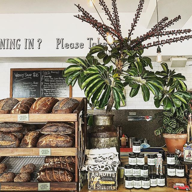 GAVE IT A SHOT. I tried minimalism once. It wasn't for me. Our fresh picked flowers, fresh baked breads and seasonal jams #minimalismisdead #maximalism #shoplocal #sydneybakery #sydneyfood #sydneycafe #shopsmall #bondi #sydneyfood #wholefood #weeklymenu #welovecoffee #sydneycoffee #greenery #indoorgarden #seasonalmenu #freshbread #baked #sourdough #jams