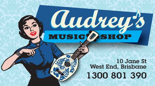 audreys music shop