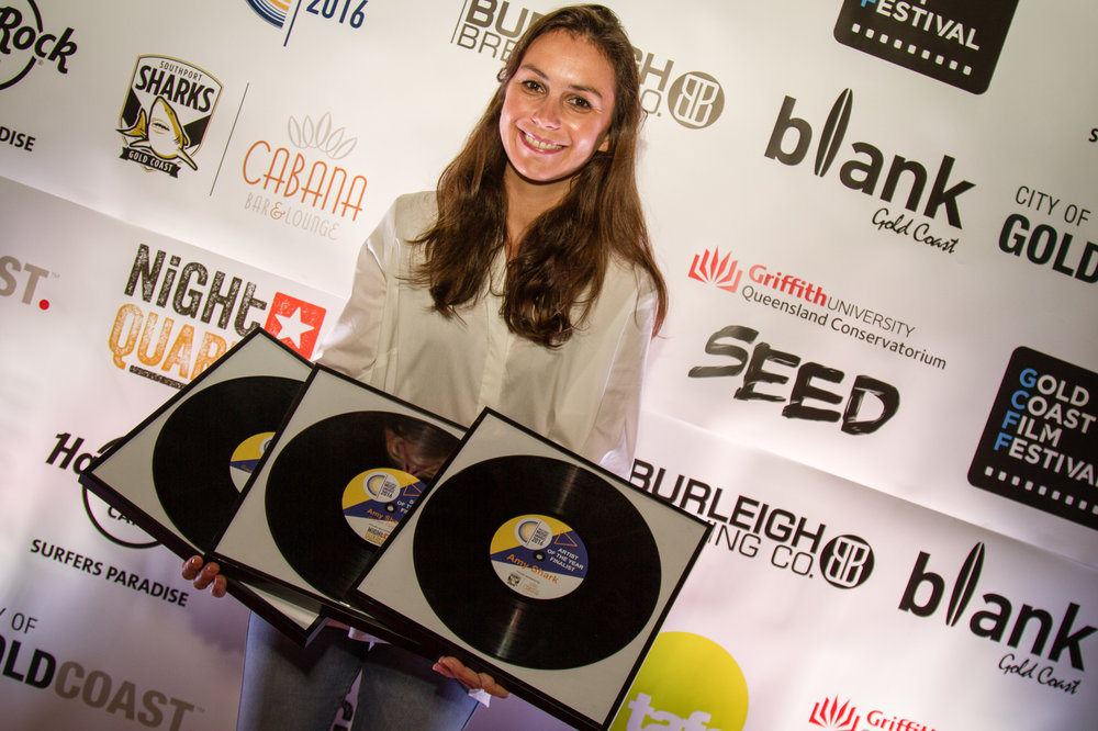 Multi Gold Coast Music Awards finalist, Amy Shark.